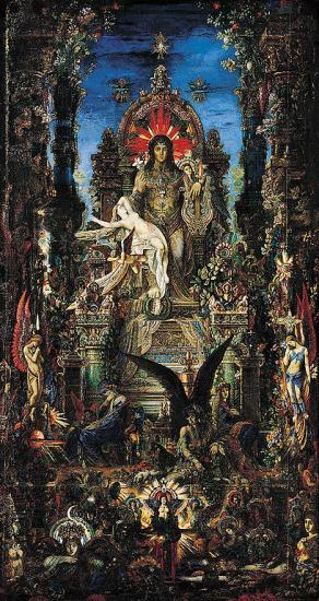 Moreau. Jupiter et Sémélé, 1895