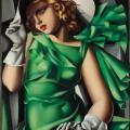 Tamara de Lempicka. Jeune fille en vert (1927-30)