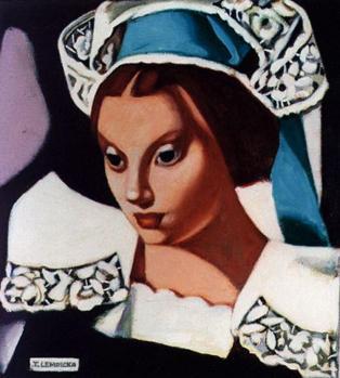 Tamara de Lempicka. La Bretonne (1972)