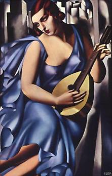 Tamara de Lempicka. La musicienne (1929)