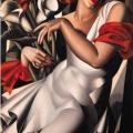 Tamara de Lempicka. Portrait d'Ira Perrot (1930)
