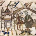 Tapisserie de Bayeux, Edouard le Confesseur (1066-1082)