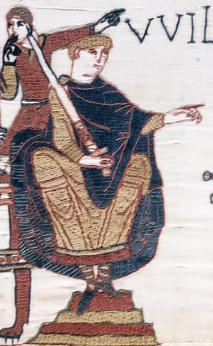 Tapisserie de Bayeux, Guillaume (1066-1082)