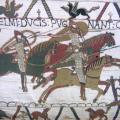 Tapisserie de Bayeux, Scène de bataille (1066-1082)