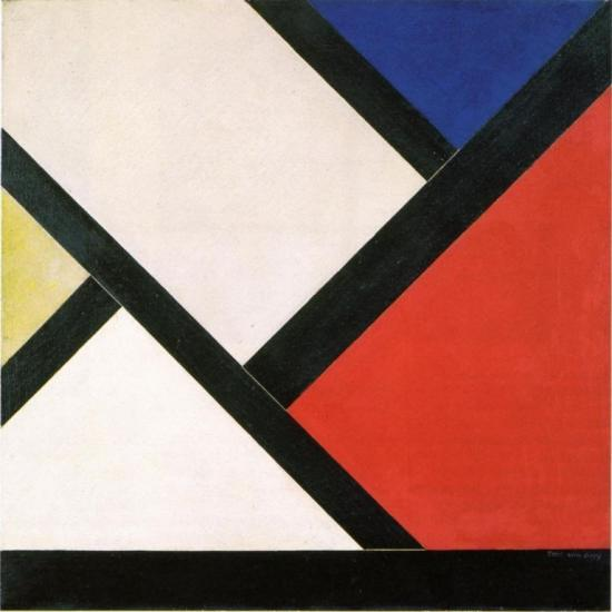 tTheo van Doesburg. Contre-composition XIV (1925)