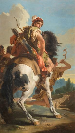 Tiepolo. Chasseur à cheval, 1718