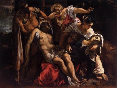 Tintoret. Lamentation sur le Christ mort (v. 1560)