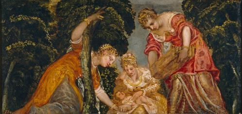 Tintoret. Moïse sauvé des eaux (v. 1555)