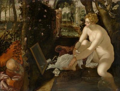 Tintoret. Suzanne et les vieillards (v. 1555)