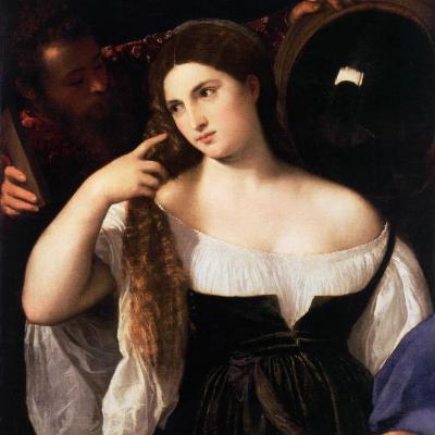 Titien. La femme au miroir (v. 1514)