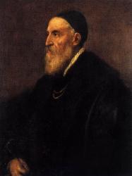 Titien. Autoportrait (v. 1566)