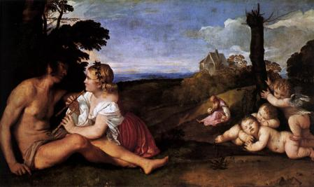Titien. Les trois âges de l'homme (v. 1512)