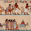 Tombe de Khnoumhotep II, immigrants 2 (v. -1900-1870)