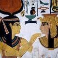 Tombe de Néfertari, détail après restauration (-1250)