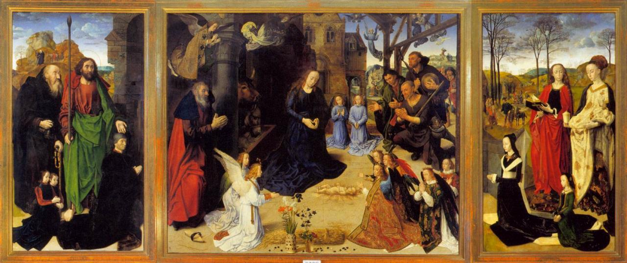 Jan van eyck la vierge du chancelier rolin 1435 - Galerie des offices florence site officiel ...