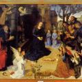 Van der Goes. Triptyque Portinari ouvert (1475-77)