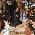 Van der Goes. L' Adoration des bergers (1475-77)