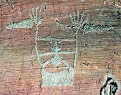 Vallée des Merveilles. Le sorcier (6 000 à 800 av. JC)