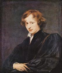 Van Dyck. Autoportrait (1621)