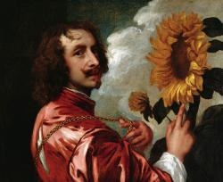 Van Dyck. Autoportrait (1633)