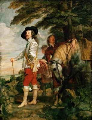 Van Dyck. Charles Ier d'Angleterre à la chasse (1635)