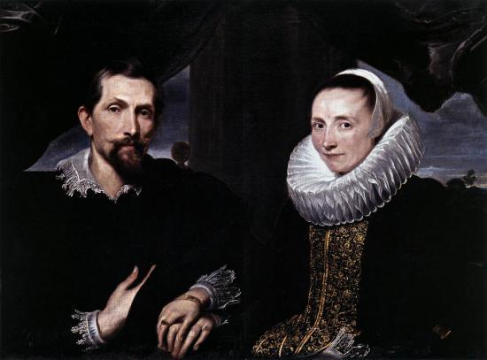 Van Dyck. Frans Snyders et sa femme (1621)