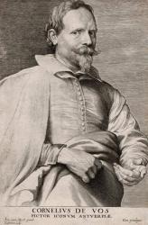Van Dyck. Gravure, Cornelis De Vos