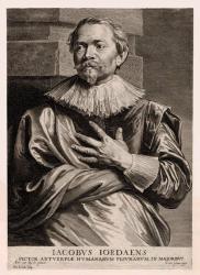 Van Dyck. Gravure, Jacob Jordaens