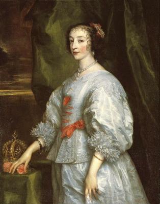 Antoine Van Dyck. Henriette Marie de France (1632)
