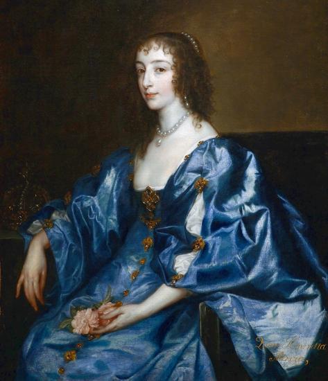 Van Dyck. Henriette-Marie de France (1636-38)