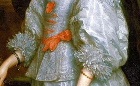 Antoine Van Dyck. Henriette-Marie de France, détail