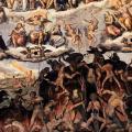 Vasari. Le jugement dernier, détail (1572-79)