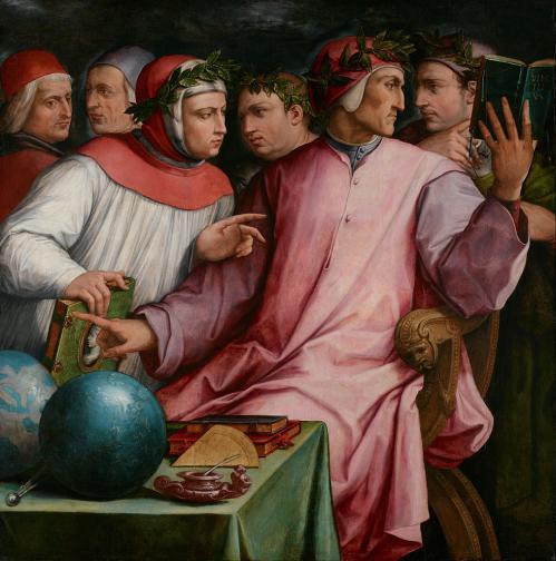 Vasari. Six poètes toscans (1544)