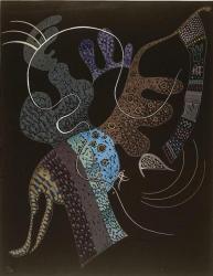 Vassily Kandinsky. Ligne blanche (1936)