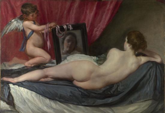 Vélasquez. Vénus à son miroir (1647-51)
