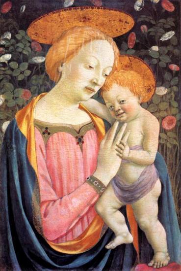 Veneziano. Vierge à l'enfant (après 1447)