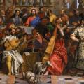 Véronèse. Les noces de Cana, détail 1 (1563)