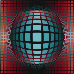 Victor Vasarely. Sagita (1978)