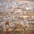 Villa La Olmeda, mosaïque des chasseurs (1er - 4e s.)