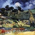 Vincent van Gogh. Chaumes de Cordeville (juin 1890)