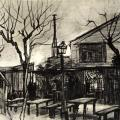 Vincent van Gogh. La guinguette (1887)