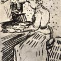 Vincent van Gogh. Mademoiselle Gachet au piano (1890)
