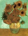Vincent van Gogh. Tournesols (janv. 1889)