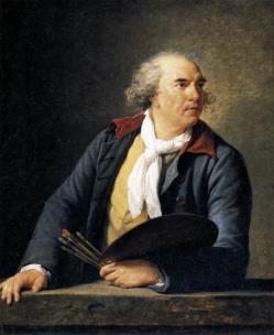 Vigée-Lebrun. Hubert Robert, 1788