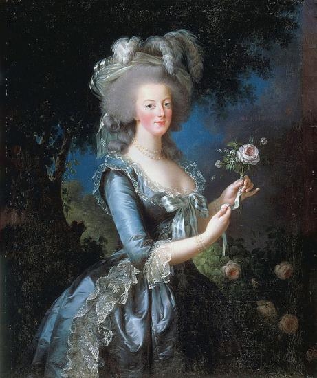 Vigée-Lebrun. Marie-Antoinette, 1783