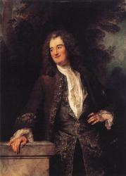 Watteau. Portrait d'un Gentilhomme, 1715-20