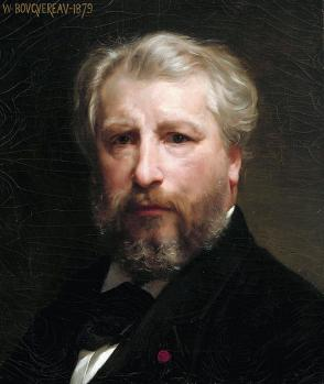 William Bouguereau. Autoportrait (1879)