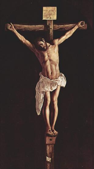 Zurbarán. Christ en Croix (1627)