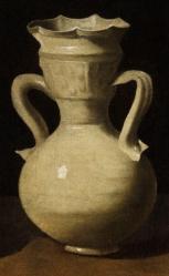 Francisco de Zurbarán. Nature morte avec cruches, détail
